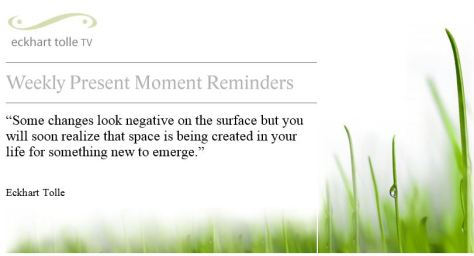 Eckhart Tolle Present Moment 08-11-14